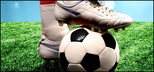 Soccer Boot and Ball