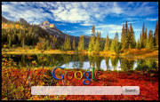 Autumn At The Lake Google Homepage