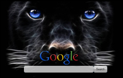 Black Leopard Google Homepage