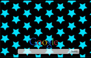 Animated Bright Flahing Stars Google Homepage