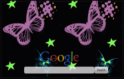 Animated Bright Colourful Butterflies Google Homepage