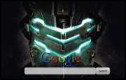 Dead Space 2 Google Homepage