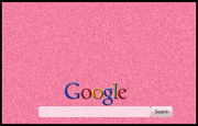 Animated Fuzzy Pink  Google Homepage