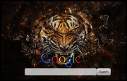 Glass Tiger Google Homepage