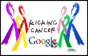 Kicking Cancer Google Homepage