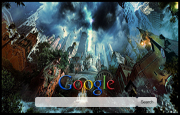 Lost City Google Homepage