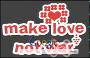 Animated Make Love Not War