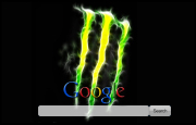 Monster Energy Drink Google Homepage