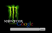 Green Monster Energy Drink Logo Google Homepage