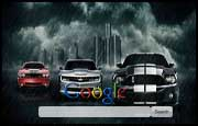 3 Muscle Cars Google Homepage