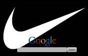 Nike Tick Google Homepage