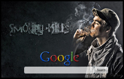 Smoking Kills Google Homepage