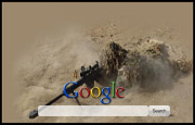 Military Sniper Google Homepage