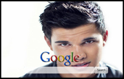 Baby Face Taylor Lautner Google Homepage
