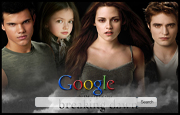 The Twilight Saga - Breaking Dawn Google Homepage